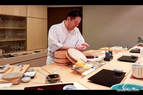 台湾でリッチなお寿司たべるなら日本人が経営する天本へ 台北の老舗鮨割烹「高玉」にいた天本さんが独立して開いた寿司専門店。