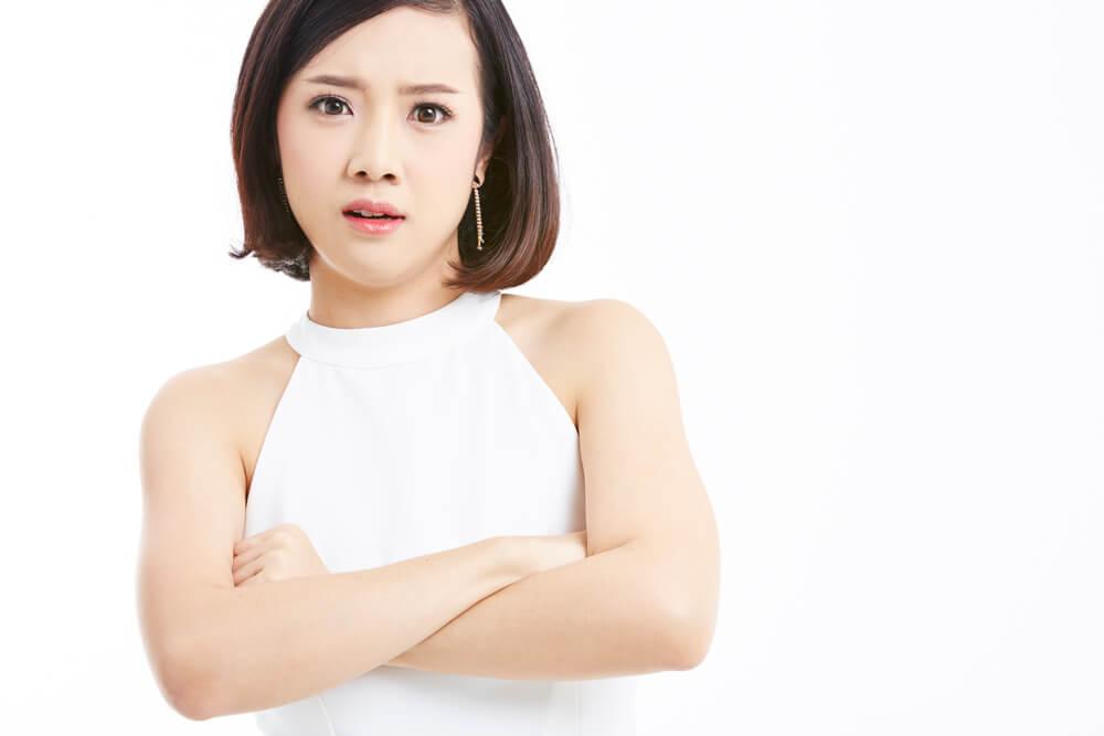 中国語表現 「生氣了嗎? 怒ってる?」