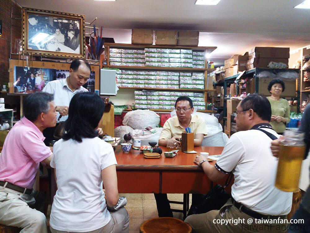台湾で中国茶体験 和昌茶荘(台北/茶芸館)