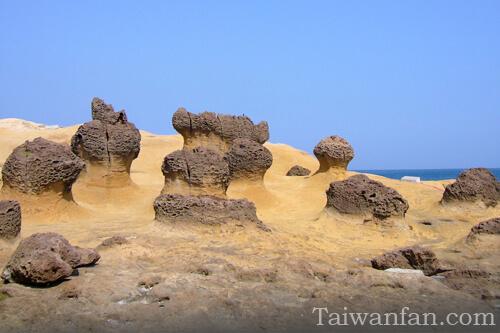 野柳 イエリョウ(奇岩/萬里區/台北近郊の観光スポット)